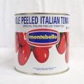 モンテ)モンテベッロ ホールトマト 1号缶 2.55kg