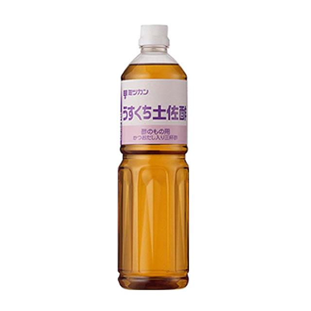 ミツカン) うすくち 土佐酢 1L