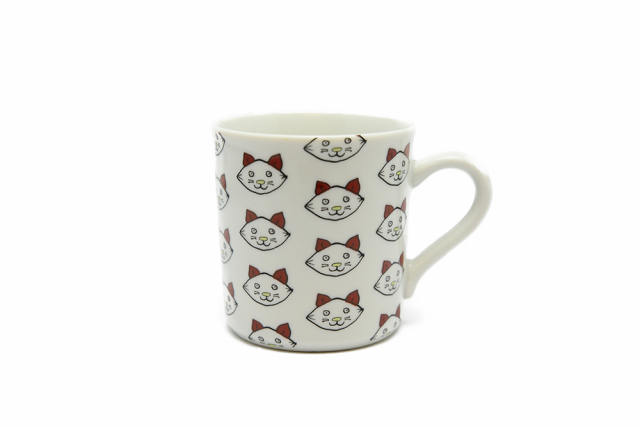 マグカップ / 子猫整列