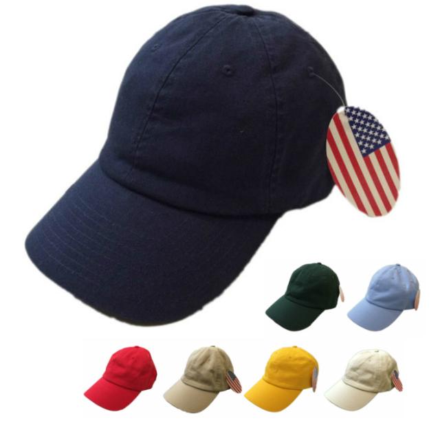ベイサイド 【BAYSIDE】 WASHED TWILL CAP ウォッシュドツイルキャップ アメリカ製 7COLOR