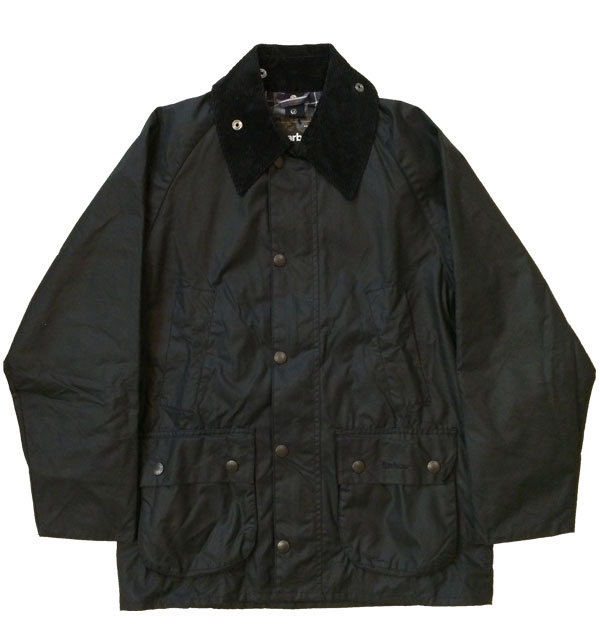 バブアー 【Barbour】 ビデイル BEDALE ワックスジャケット BLACK