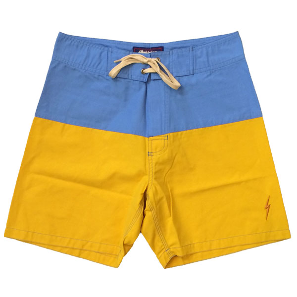 ライトニングボルト 【LIGHTNING BOLT】 Boardshort GOLDEN ROD BLUE×YELLOW