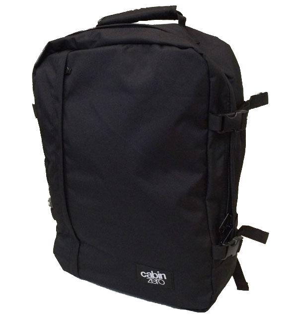 キャビンゼロ 【CABIN ZERO】 Classic Ultra-Light Cabin Bag 44L BLACK