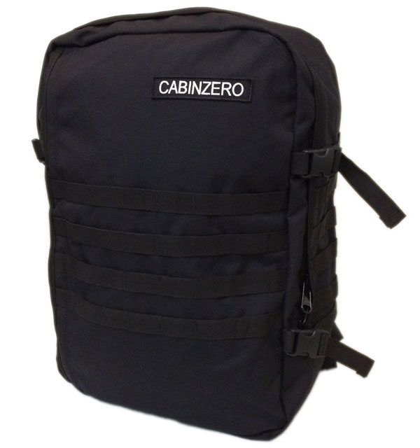 キャビンゼロ 【CABIN ZERO】 Military Backpack 44L  ABU BLACK
