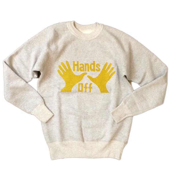 ダブルワークス 【DUBBLE WORKS】 HANDS OFF スウェットシャツ GRAY