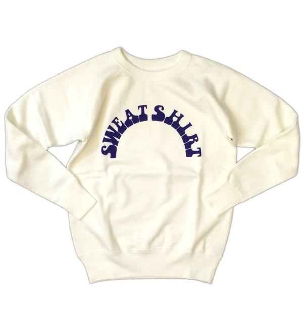ダブルワークス 【DUBBLE WORKS】 SWEAT SHIRTS スウェットシャツ WHITE