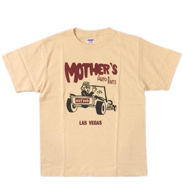ダブルワークス 【DUBBLE WORKS】 ラフィ天竺Tシャツ MOTHER'S ORENGE