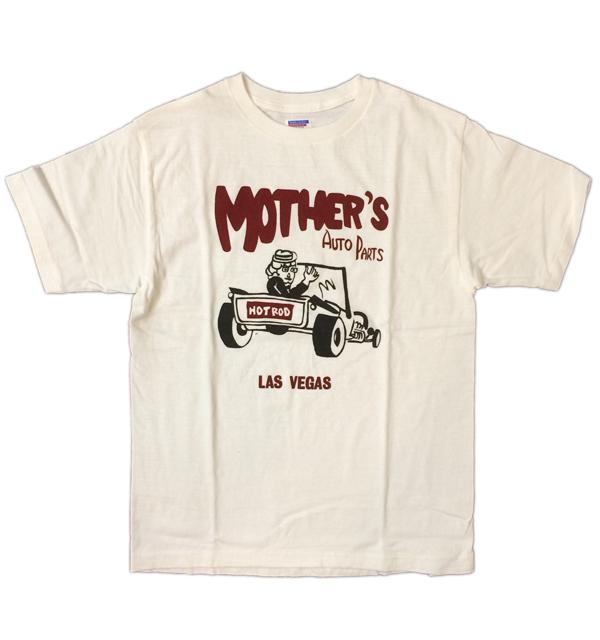ダブルワークス 【DUBBLE WORKS】 ラフィ天竺Tシャツ MOTHER'S WHITE