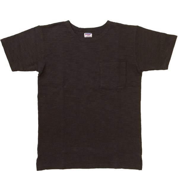 ダブルワークス 【DUBBLE WORKS】 半袖スラブポケットTシャツ S/S SLUB T-SHIRTS BLACK
