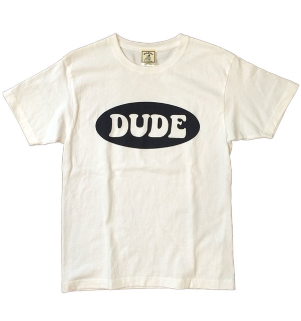 ハッピーキャンパー 【HAPPY CAMPER】 DUDE TEE WHITE