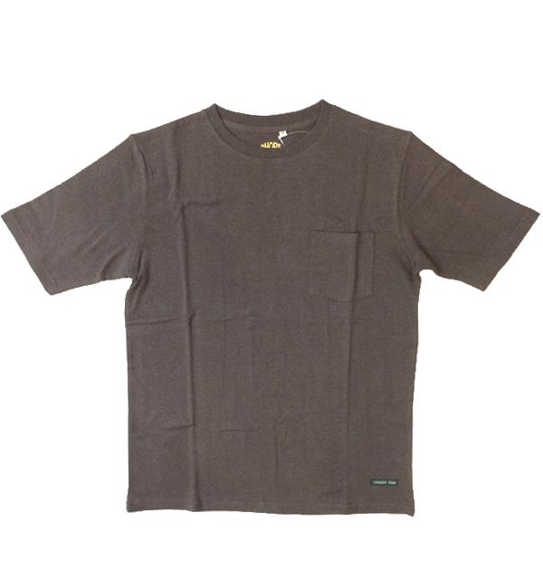 アホープヘンプ 【A HOPE HEMP】 ベーシックポケットTシャツ Regular S/S Pocket Tee BLACK
