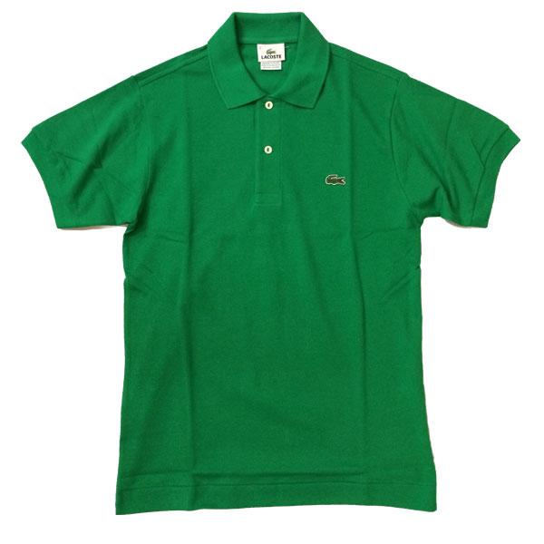 ラコステ 【LACOSTE】  半袖ポロシャツ L1212 GREEN 送料無料