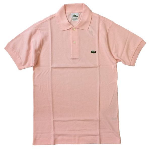 ラコステ 【LACOSTE】  半袖ポロシャツ L1212 PINK 送料無料