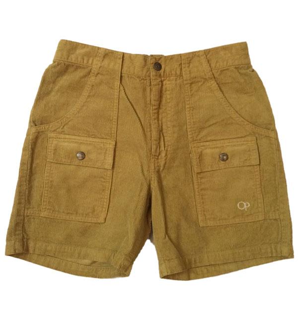 オーシャンパシフィック 【OCEAN PACIFIC】 Corduroy Bush Shorts コーディロイブッシュショーツ BEIGE