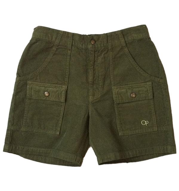 オーシャンパシフィック 【OCEAN PACIFIC】 Corduroy Bush Shorts コーディロイブッシュショーツ OLIVE