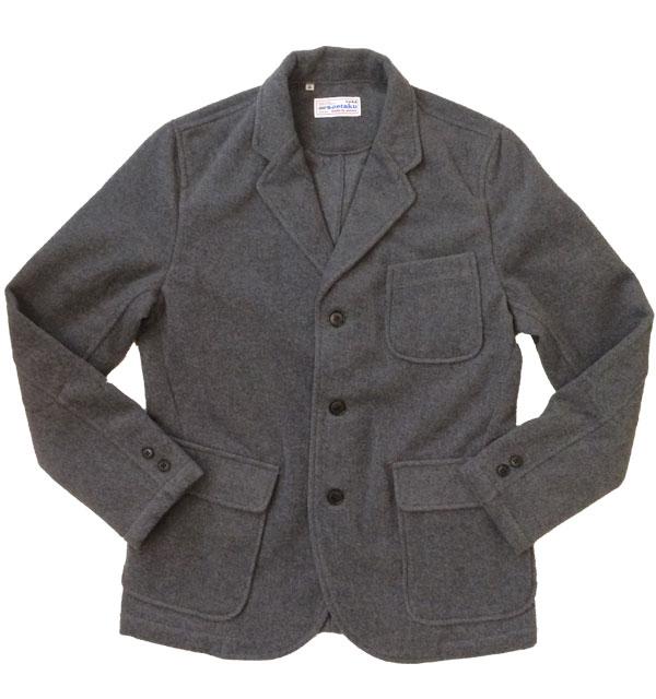 ソンタク 【SONTAKU】 メルトンウールジャケット WOOL MELTON 3BUTTON JACKET GRAY