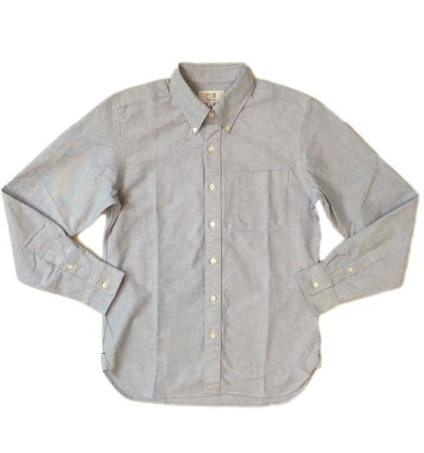 ソンタク 【SONTAKU】 OXFORD BD SHIRTS オックスフォードボタンダウンシャツ SAX BLUE