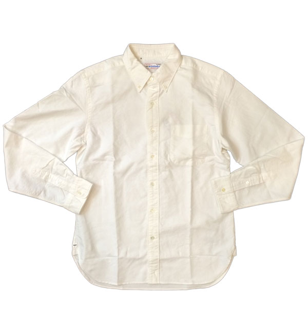 ソンタク 【SONTAKU】 OXFORD BD SHIRTS オックスフォードボタンダウンシャツ WHITE