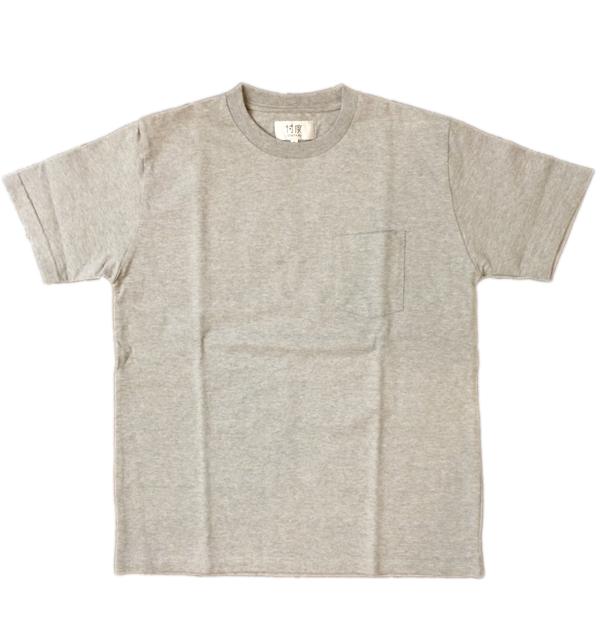 ソンタク 【SONTAKU】 ミドルウエイト S/S POCKET T-SHIRTS ポケTシャツ GRAY