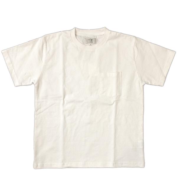 ソンタク 【SONTAKU】 ミドルウエイト S/S POCKET T-SHIRTS ポケTシャツ WHITE