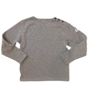����ܥޥ졼 ��Arvor Maree�� Shoulder Button Knit/Fleece ���������ܥ���˥åȥե�� GRAY