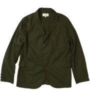 ���� ��SONTAKU�� Oxford washable 3button jacket ���å����ե����ɥ���ĥ��㥱�å� OLIVE