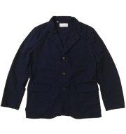 ���� ��SONTAKU�� Oxford washable 3button jacket ���å����ե����ɥ���ĥ��㥱�å� NAVY