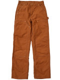 �����ϡ��ȡ���CARHARTT�ۡ�FIRM DUCK DUBBLE FRONT WORK DUNGREE�����å����֥�ˡ���BROWN��
