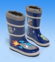 Kidorable rainboots space