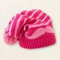 アメリカ チルドレンズプレイス 口髭 ニット帽 ピンク