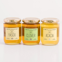 天然国産純粋ハチミツ人気TOP3セット