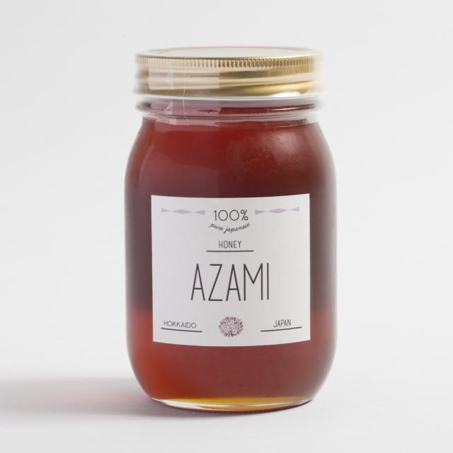 国産100%純粋天然ハチミツアザミのはちみつ(600g)
