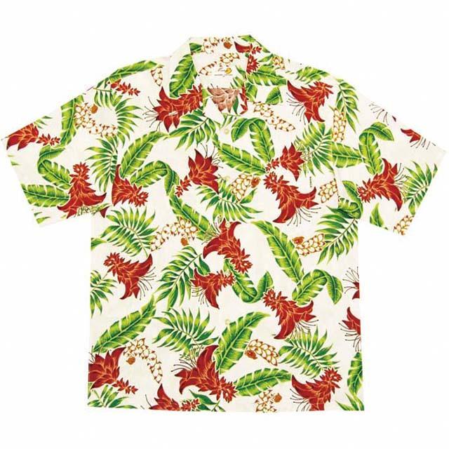 Men'sデイゴ月桃 オープンシャツ