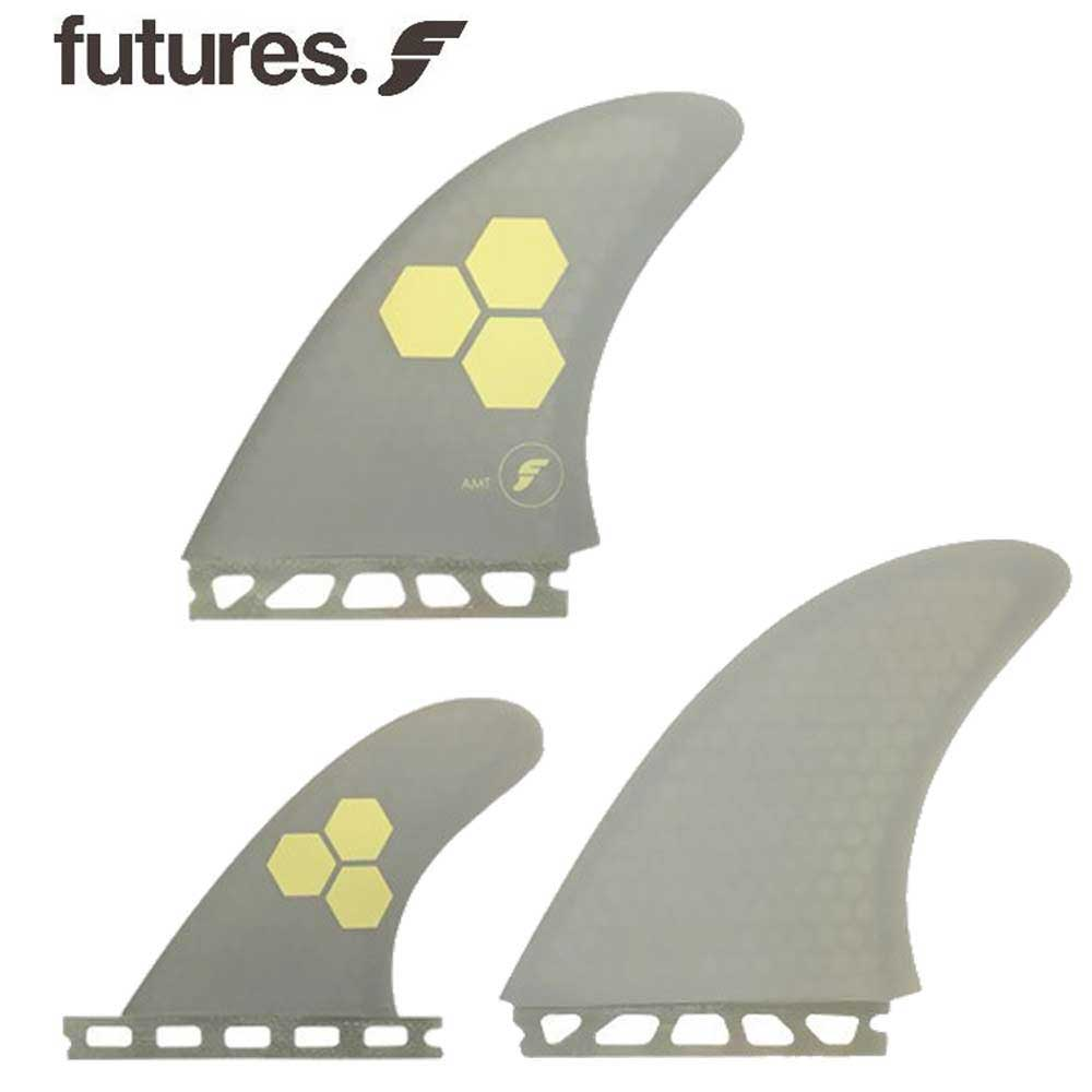 FUTURES FIN RTM HEX FAMT GREY 3FINS ハイパフォーマンスフィン / トライフィン ショートボードフィン サーフィン