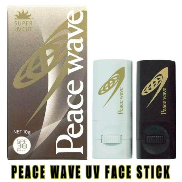 PEACE WAVE ピースウェーブ UVフェイススティック  日焼け止め 4タイプのカラー/紫外線対策 日焼け止め サーフィン用品