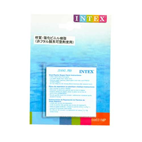 INTEX社製リペアパッチ 修理用パッチ 59631