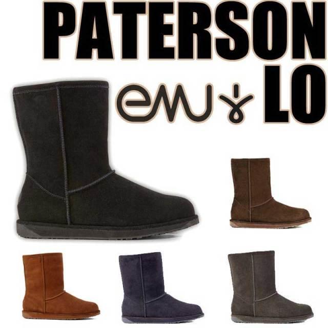 EMU エミュー EMU PATERSON LO  WATER PROOF パターソンロウ スエード