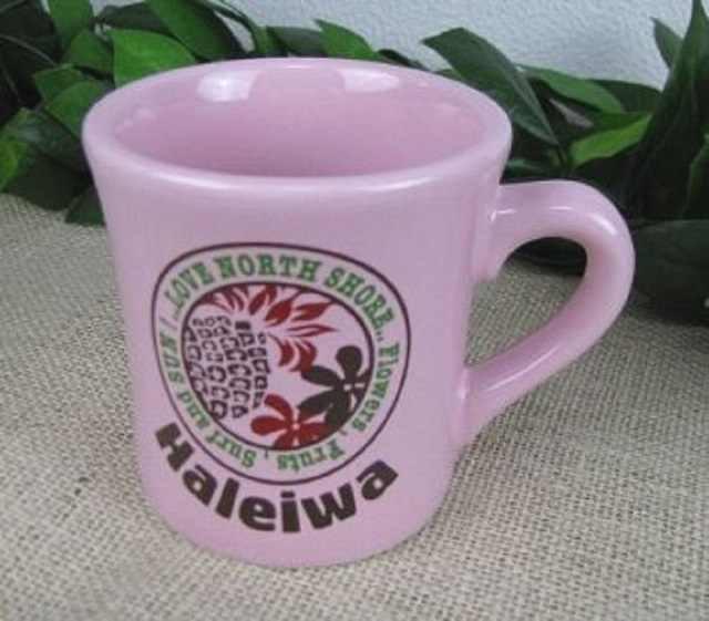LISALISA リサリサ キネ型マグカップ パイナップル ピンク