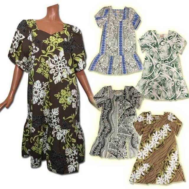 ハワイムームー ロングドレス