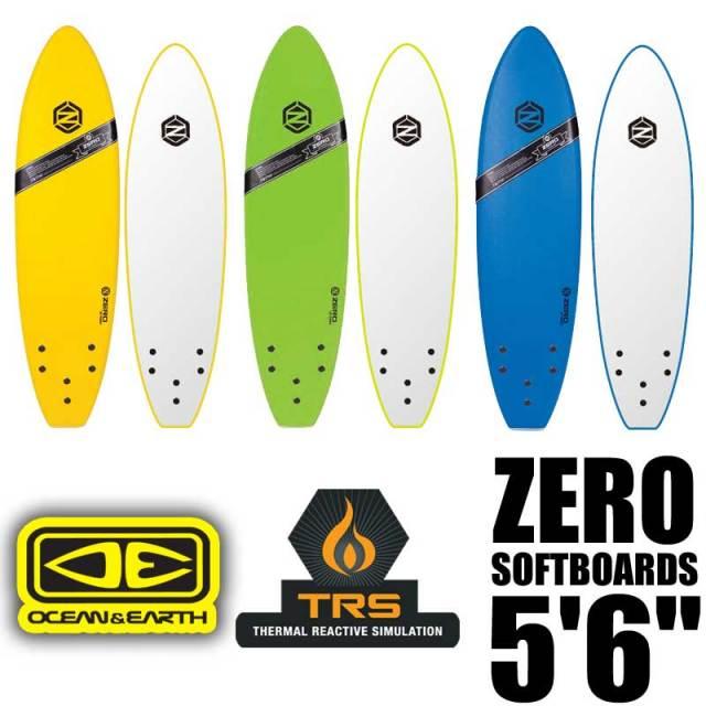 OCEAN&EARTH ZERO SOFT BOARDS 5'6 サーフボード ソフトボード / 初心者用ボード サーフィン