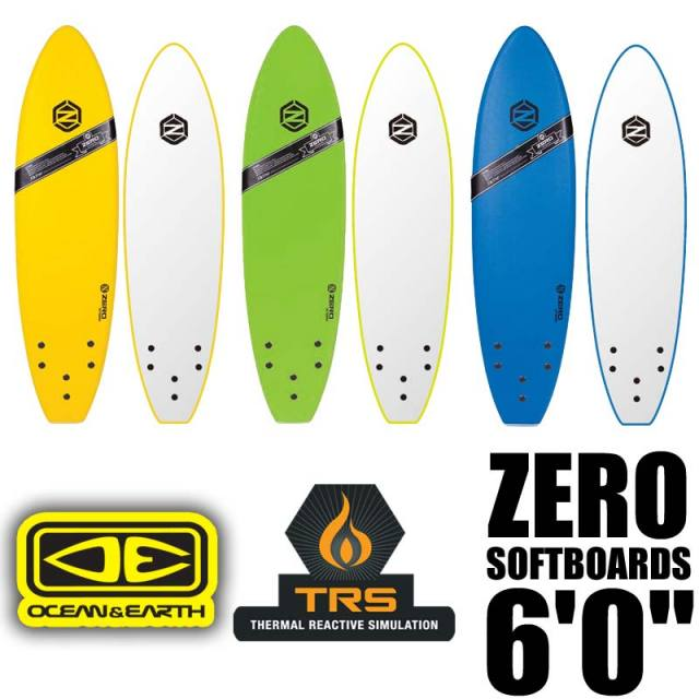 OCEAN&EARTH ZERO SOFT BOARDS 6'0 サーフボード ソフトボード / 初心者用ボード サーフィン