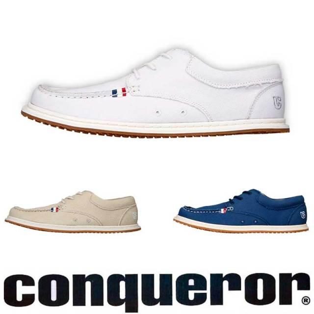 conqueror コンカラーシューズ OCEAN SIDE CVオーシャンサイド キャンバス  / 靴 スニーカー メンズシューズ