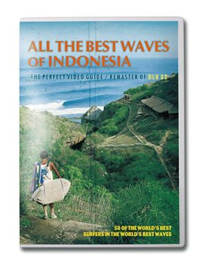 ALL THE BEST WAVE OF INDONESIA  9852/サーフィンDVD
