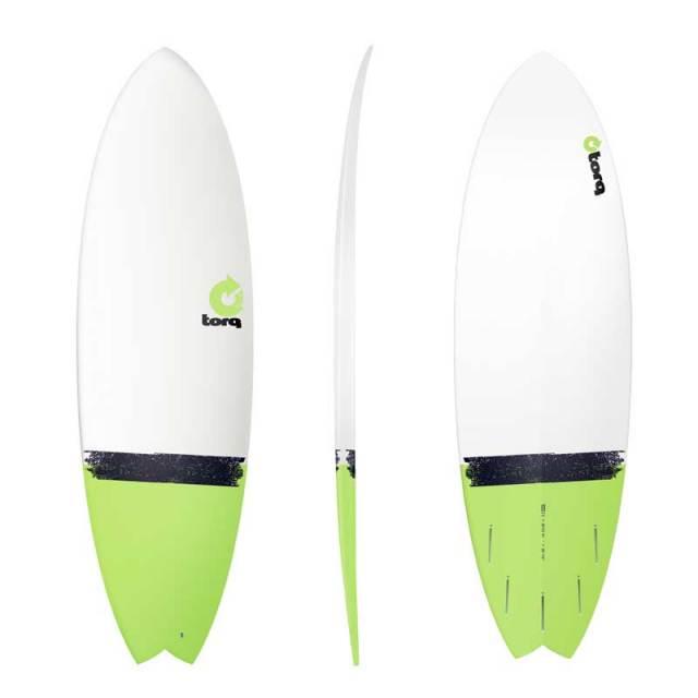 "TORQ Surfboard トルクーサーフボード Tail dip 5'11""MOD FISH/ショートボード エポキシボード サーフボード サーフィン EPS"