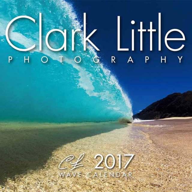 カレンダー Clark Little WAVE CALENDAR / 2017年度 サーフインテリア