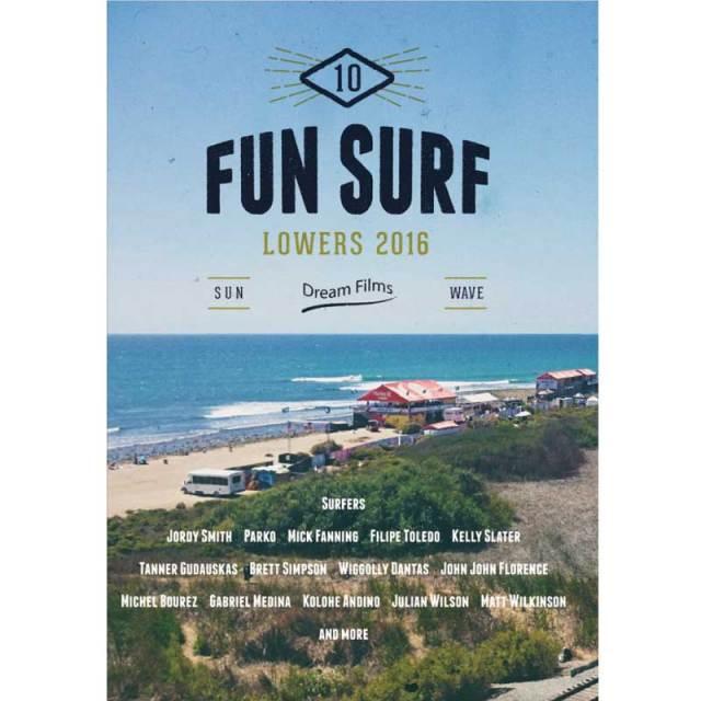 FUN SURF10 LOWERS 2016 ファンサーフ10 ロウワーズ/サーフィンDVD
