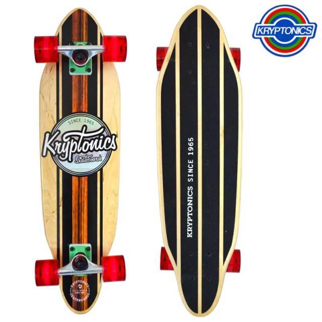 """スケートボード Kryptonics クリプトニクス KRY 30"""" Honolua ウッドセミロングボード/SK8 サーフィン"""