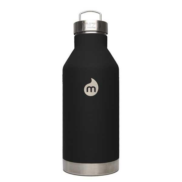 mizu ミズ 水筒 V6 600ml 真空二層構造ステンレスウォーターボトル ST Black