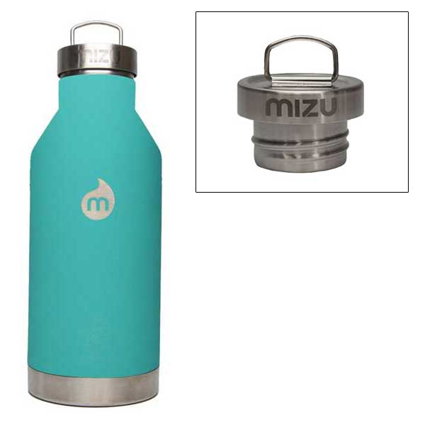 mizu ミズ 水筒 V6 600ml 真空二層構造ステンレスウォーターボトル ST Mint