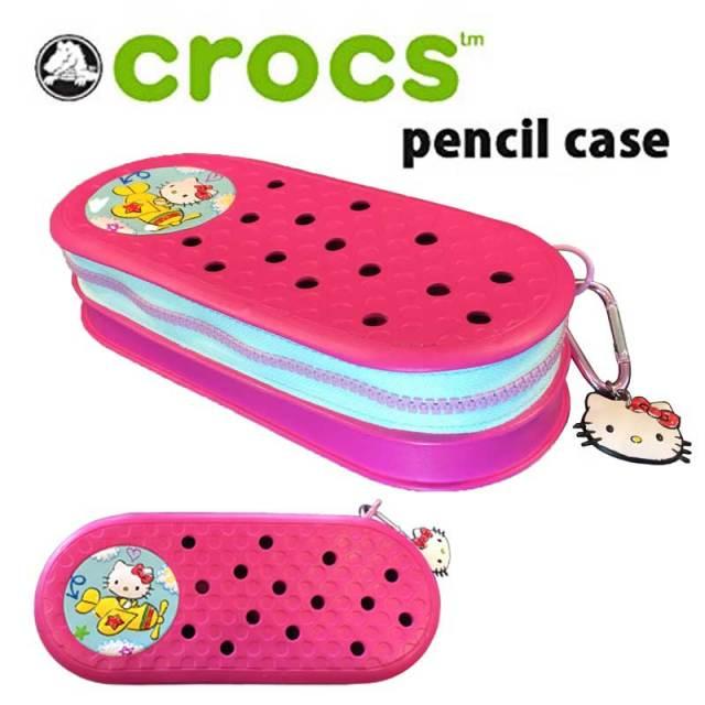 crocs クロックス ペンシルケース  pencilcase HELLO KITTY/筆箱
